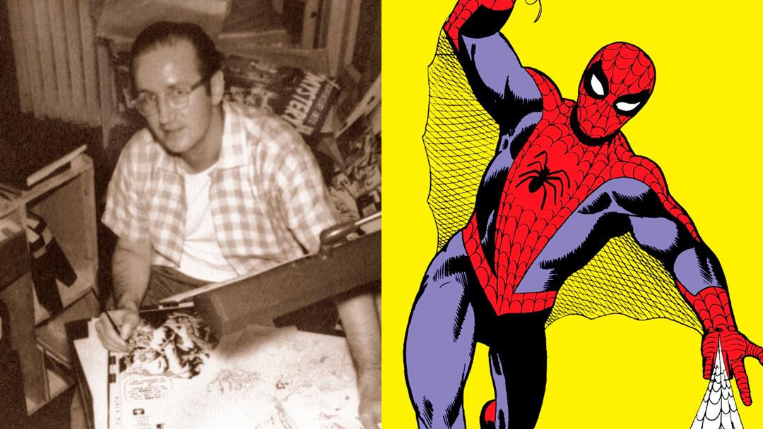 Steve-Ditko-Spider-Man