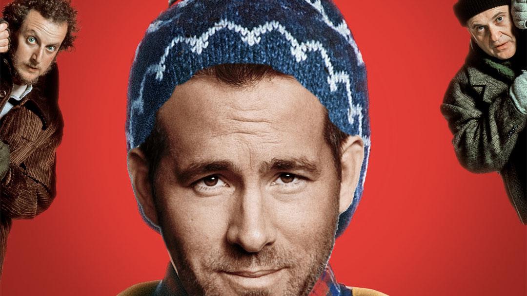 Ryan Reynolds disfrazado del protagonista de Home Alone
