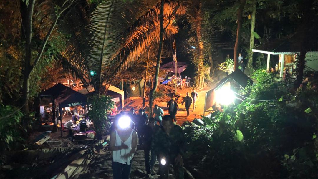 La cueva tailandesa en la que se internó Elon Musk