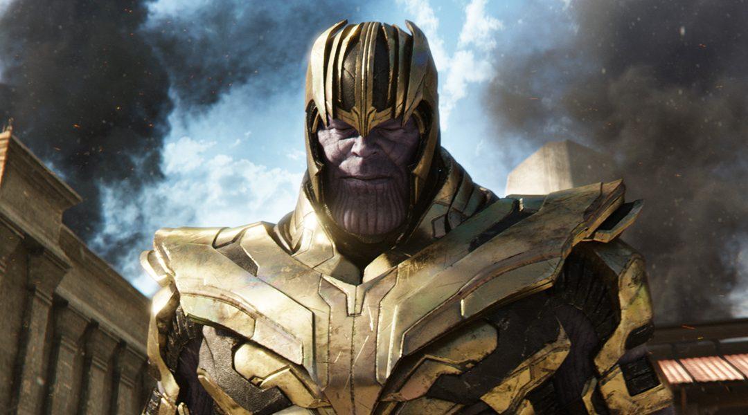 Thanos con armadura en Avengers Infinity War