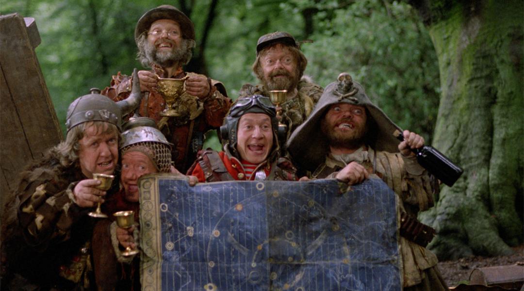 Una escena de la película Time Bandits