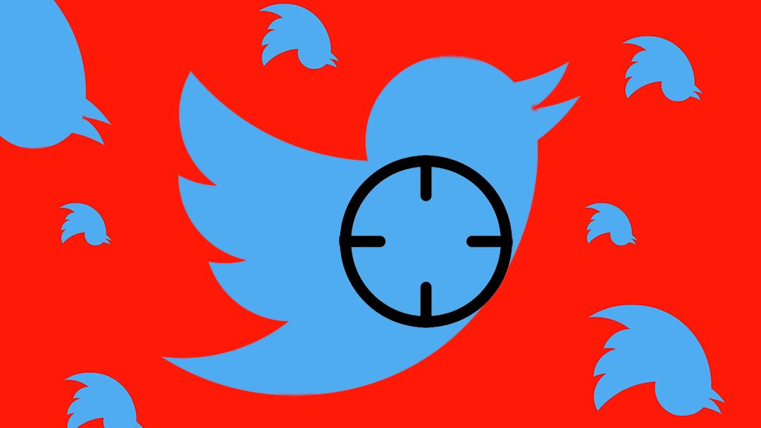 una serie de logos de Twitter