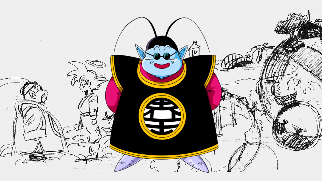 Boceto original de Kaiosama