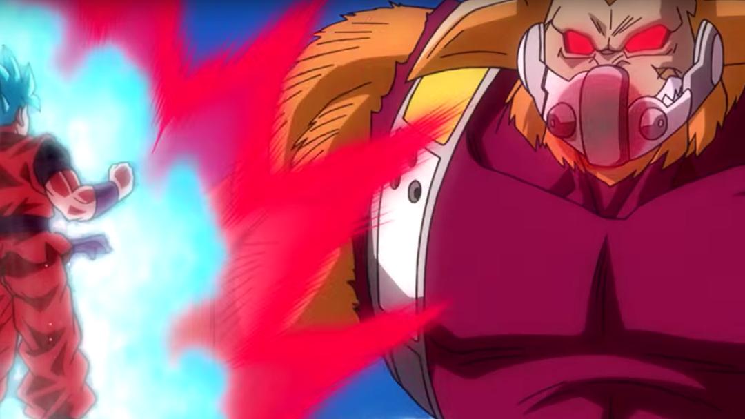 Goku contra un Ozaru Dorado en Heroes