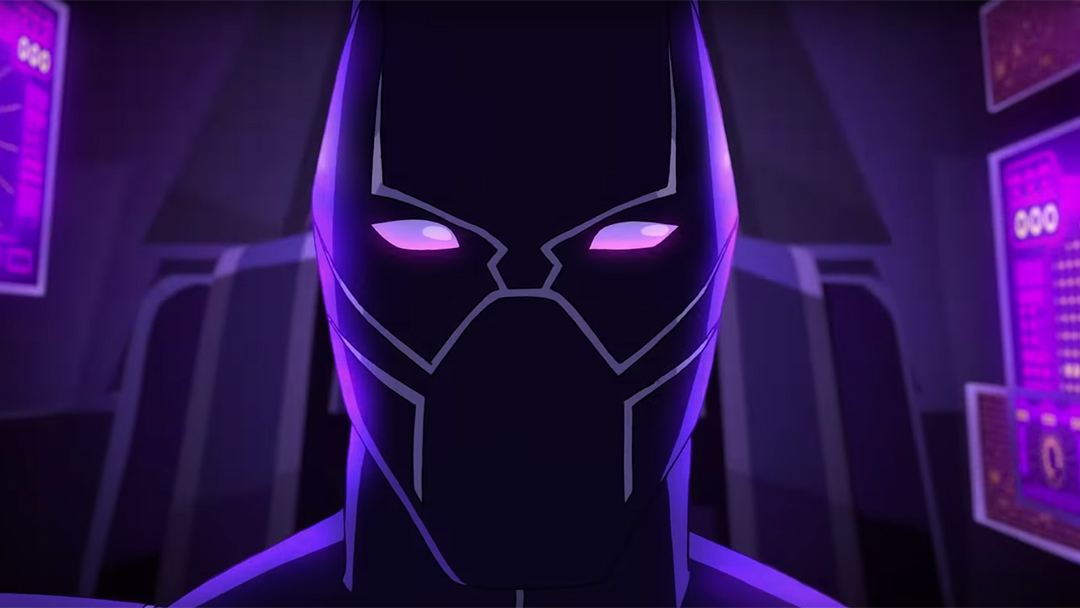 Imagen de la nueva animación de Black Panther