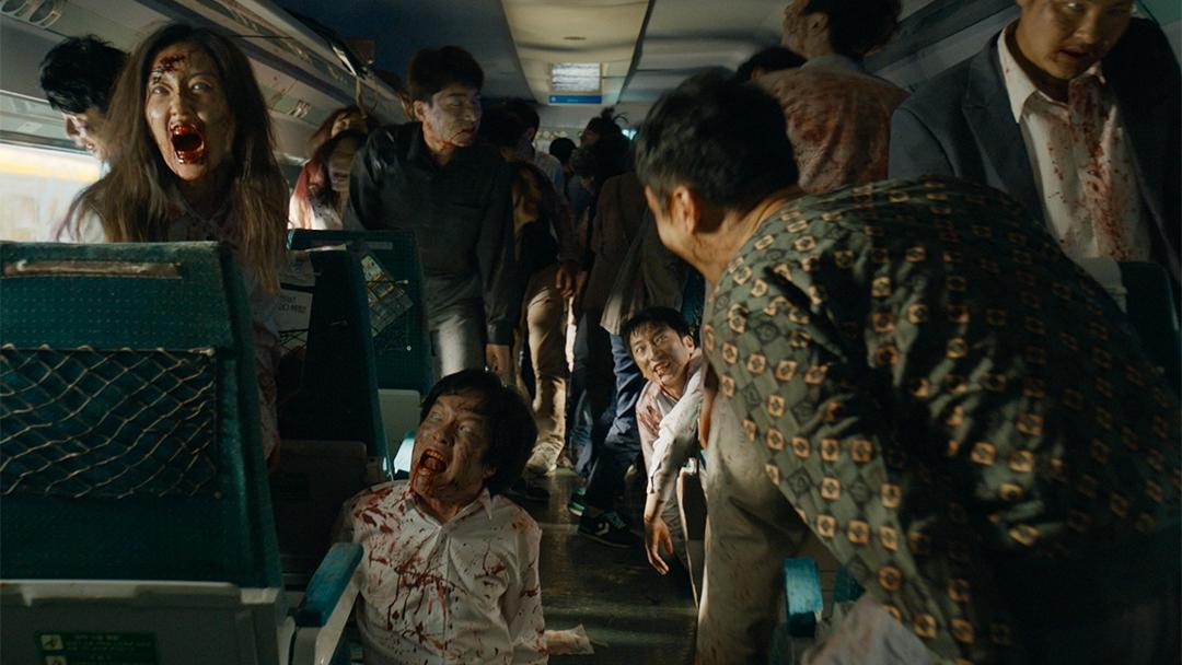 Escena de Train a Busan, Estación Zombie en México