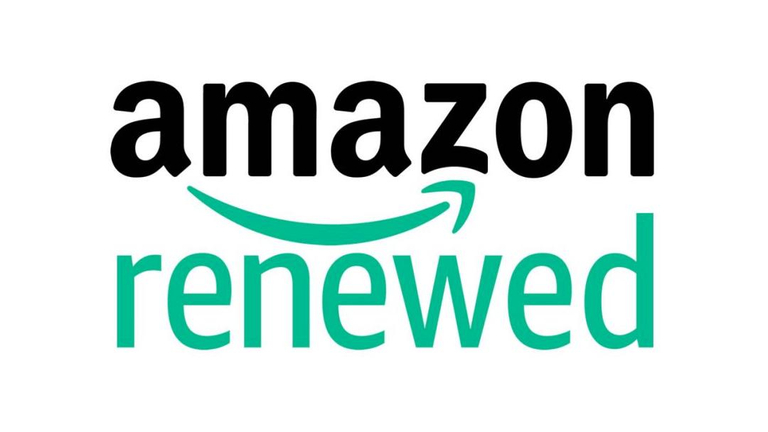 El logo oficial de Amazon Renewed