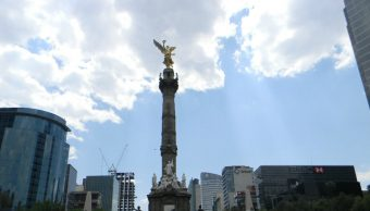 Ángel de la Independencia sufrió daños tras el sismo del 19S
