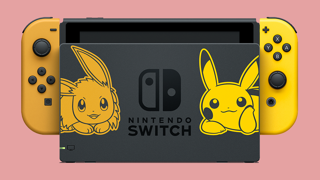 Switch de Pokémon: Let's Go