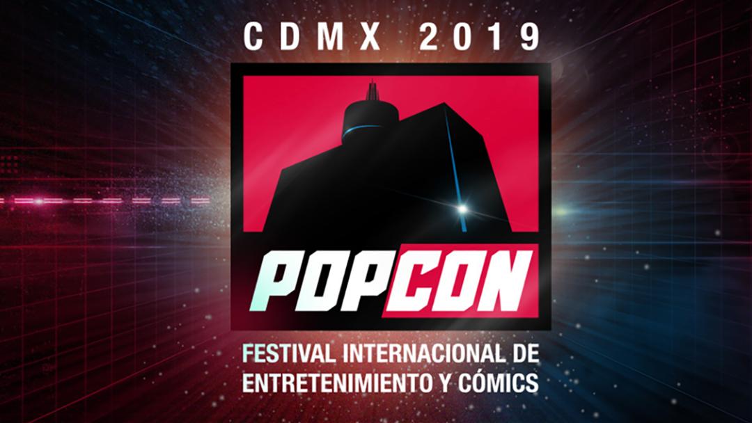 Logo de Pop Con, evento de cultura pop de la Ciuda de México