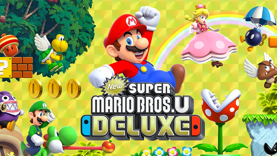 Super Mario Bros Deluxe para Nintendo Switch