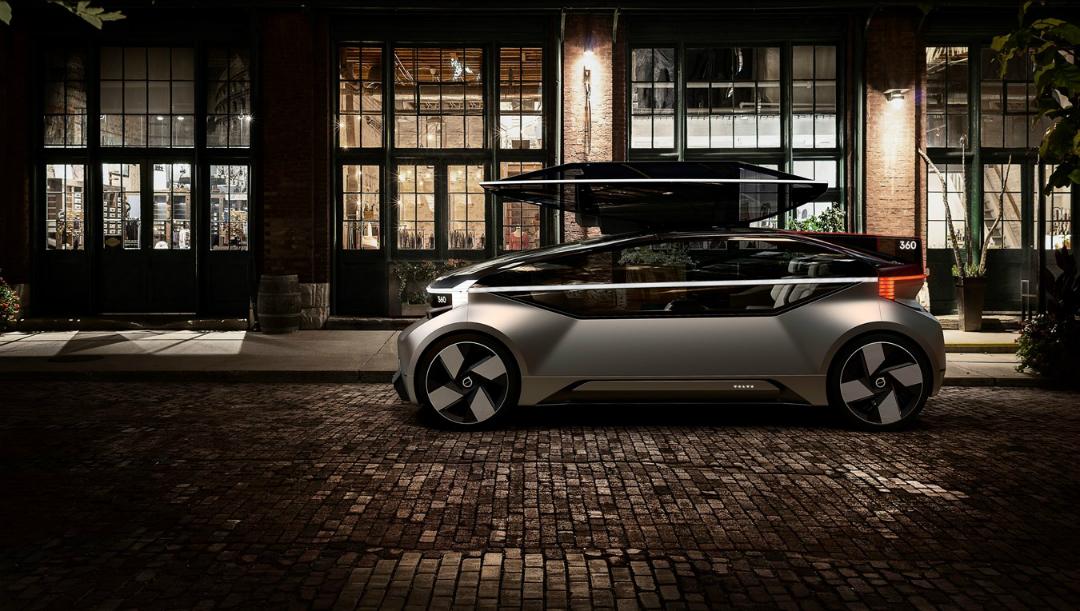 Volvo 360c: un concepto que imagina un coche como un jet