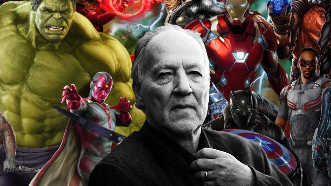 Werner Herzog con los superhéroes de Marvel