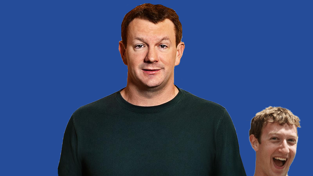Brian Acton, fundador de Whatsapp con Mark