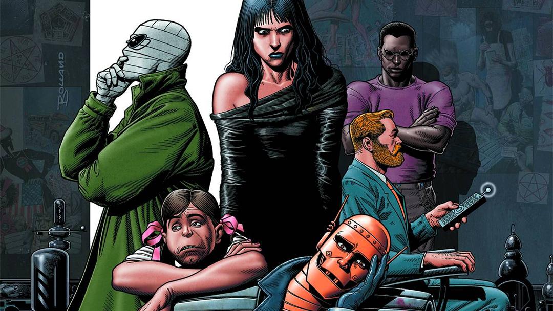 portada de Doom Patrol, equipo de DC Comics