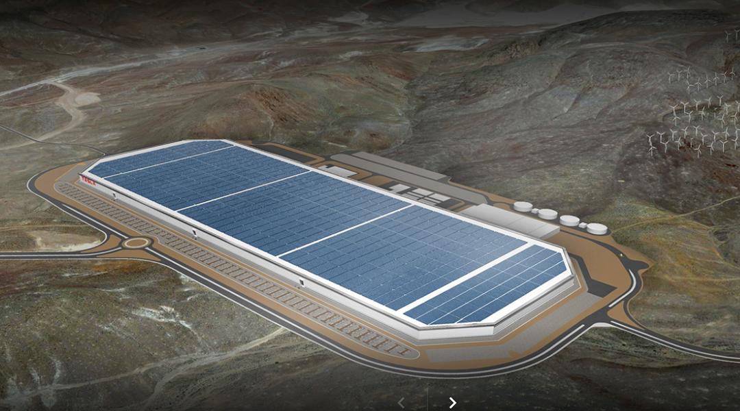 Así se verá la Gigafactory de Tesla