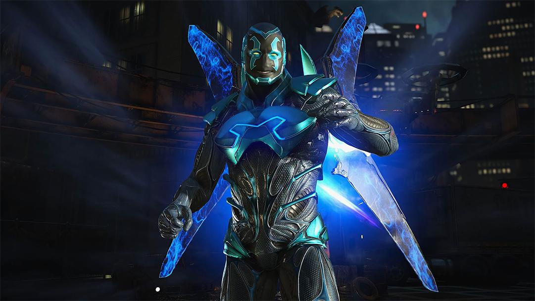 Blue Beetle el héroe latino de DC Comics