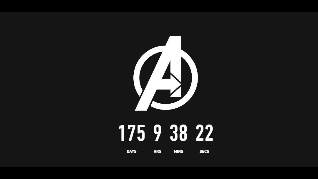 Cuenta regresiva Avengers 4