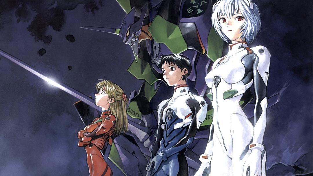 Neon Genesis Evangelion imagen de promocion