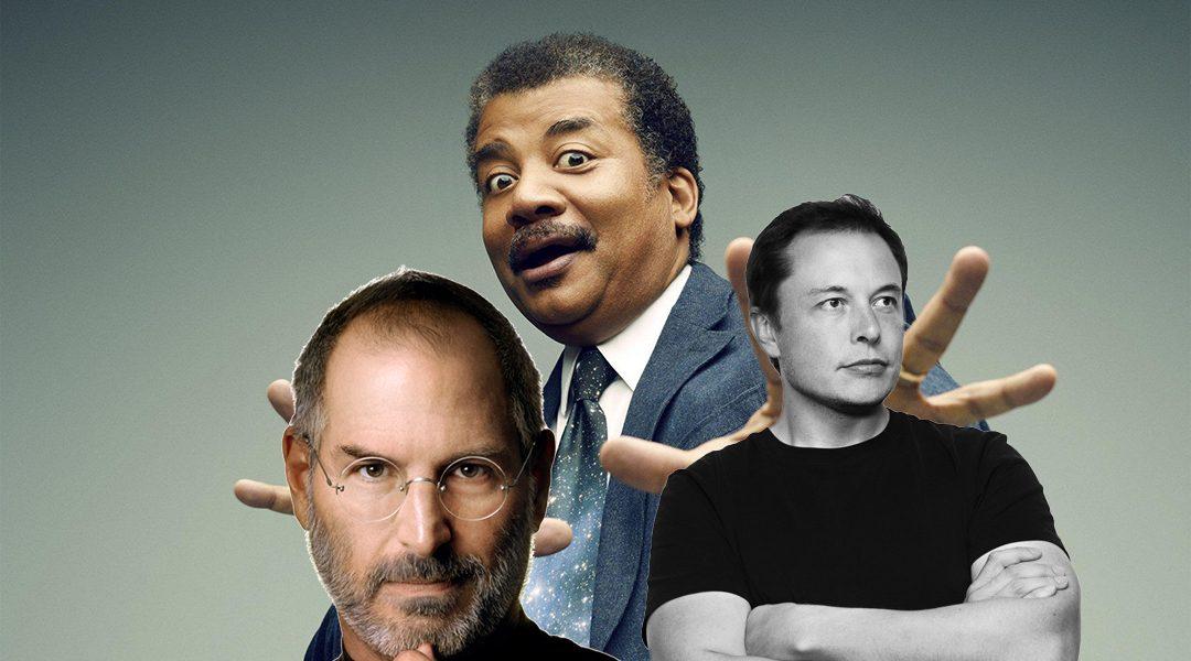 "Neil deGrasse Tyson: ""Musk es más importante que Jobs""."