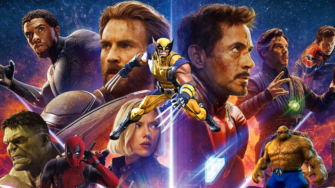 Avengers Infinity War con personajes de Fox