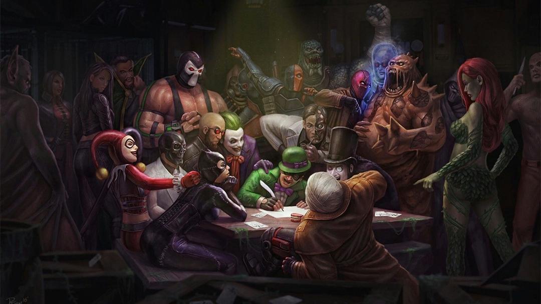 Los principales villanos de Batman reunidos