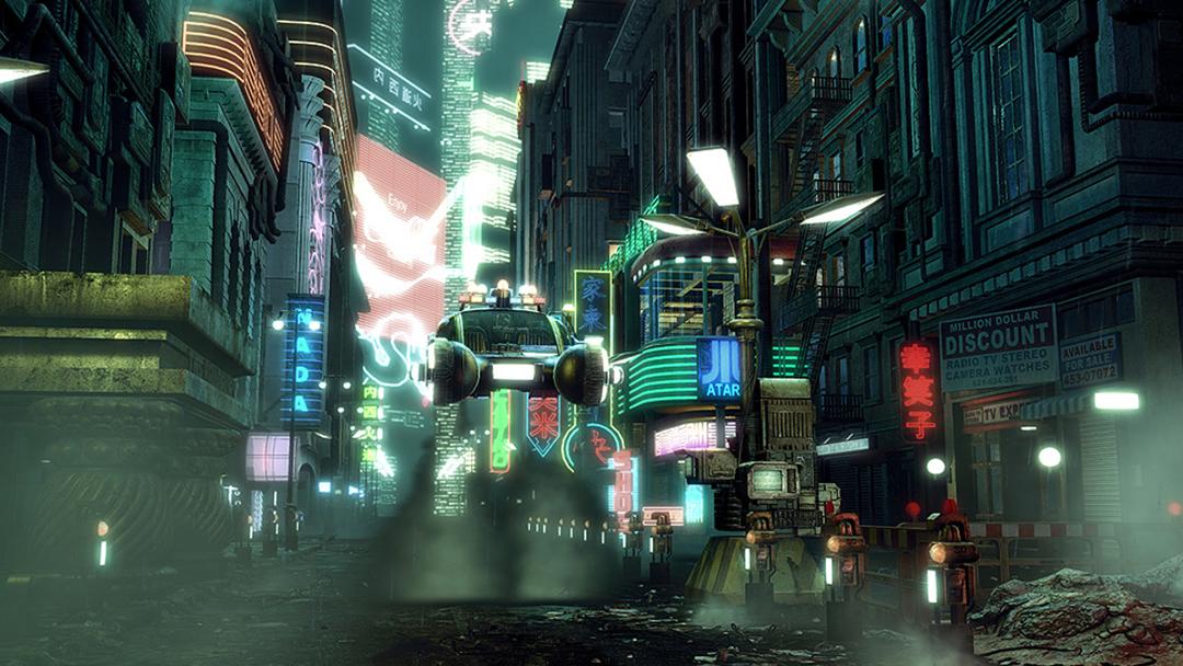 Escena de Blade Runner 2049 de Warner