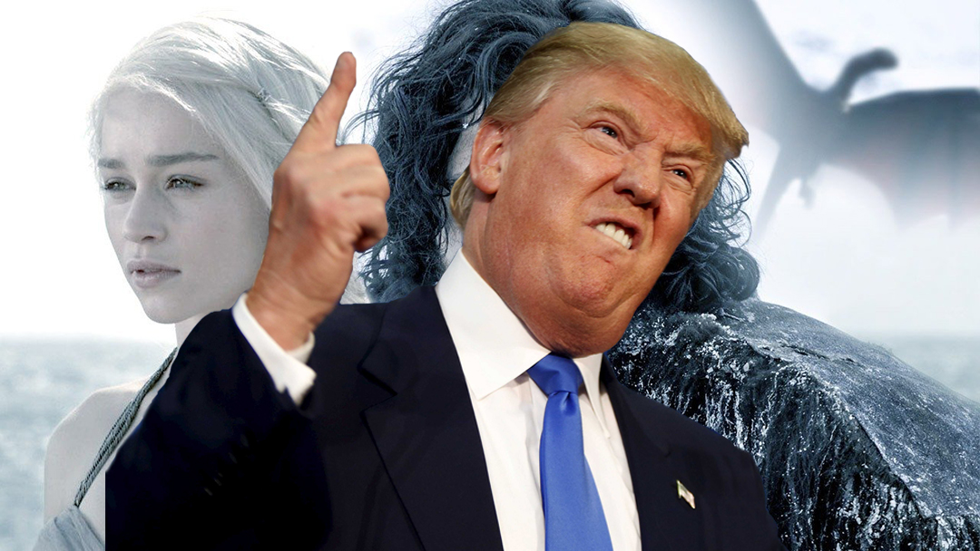 Donald Trump, Game of Thrones, Muro, México, Estados Unidos