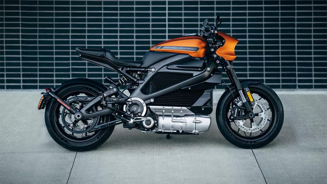 La moto Livewire de Harley Davidson