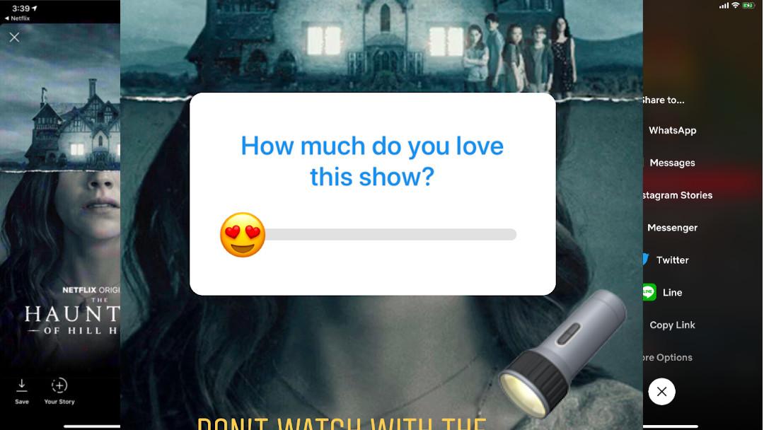Netflix deja compartir contenido en las Stories de Instagram