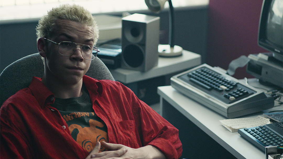 El actor Will Poulter en Black Mirror