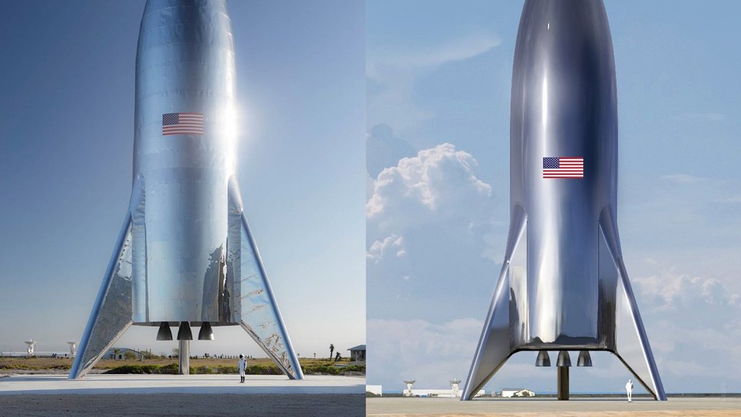 SpaceX Starship Nave