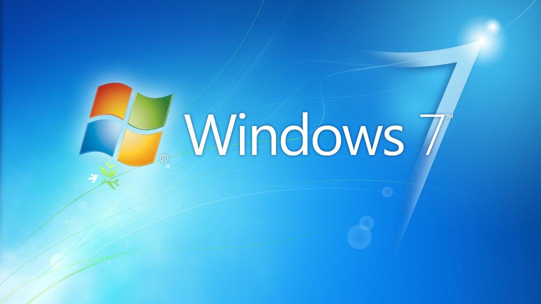 Logo oficial de Windows 7 de Microsoft