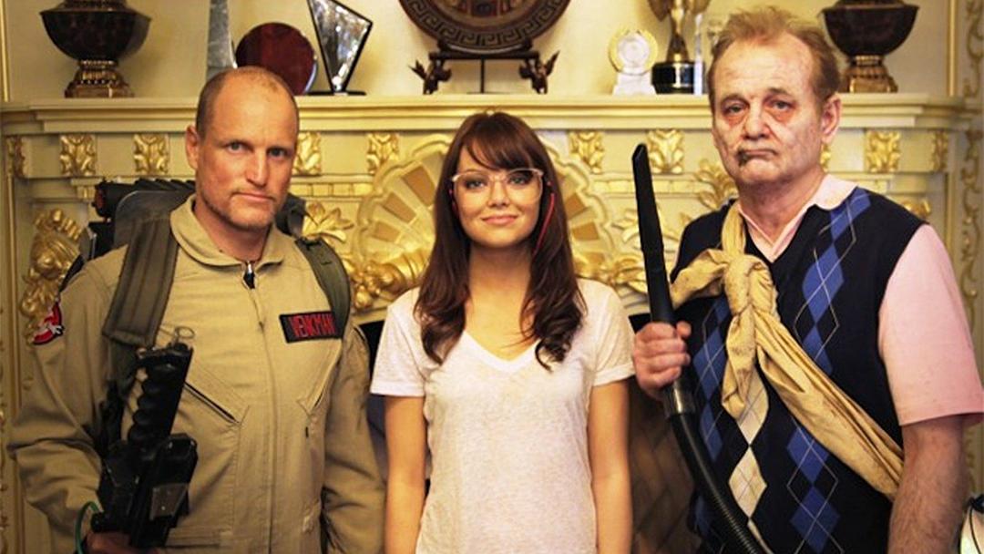 Una imagen de Zombieland, con Bill Murray