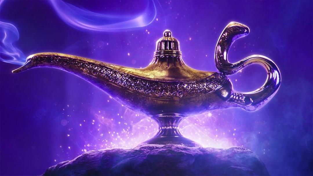 Aladdin, Trailer, Will Smith, Genio