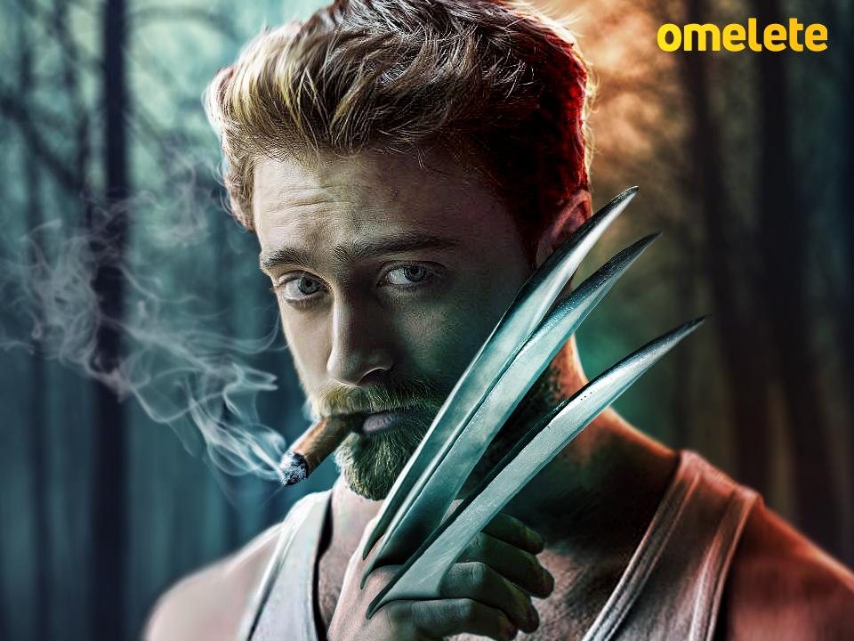 Daniel Radcliffe, Hugh Jackman, Wolverine, Película