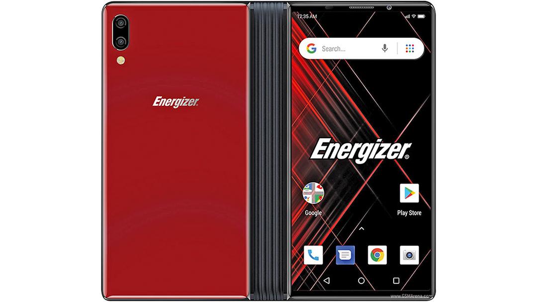 teléfono de Energizer con pantalla plegable