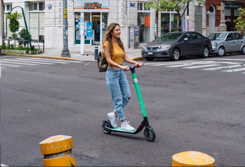 Imagen promocional de los scooters Grin