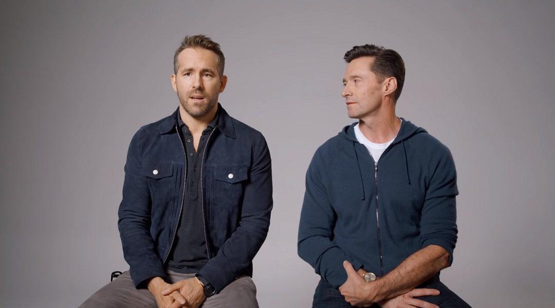 Hugh Jackman y Ryan Reynolds