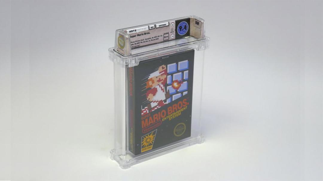 Cartucho de Super Mario Bros más caro