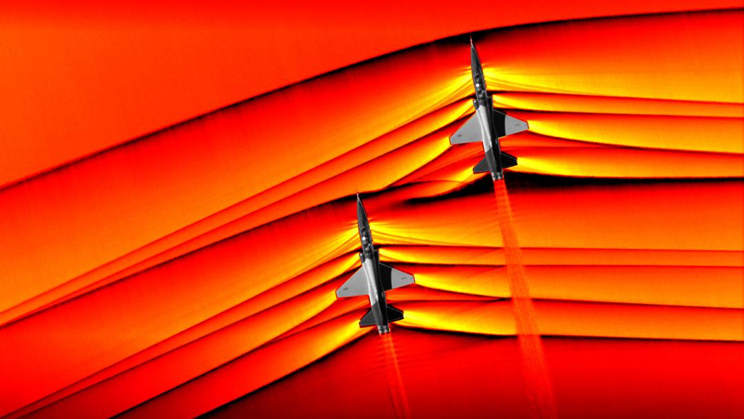 Aviones supersónicos-NASA