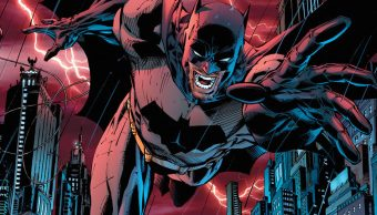 Batman, dibujado en la portada de All Star Batman