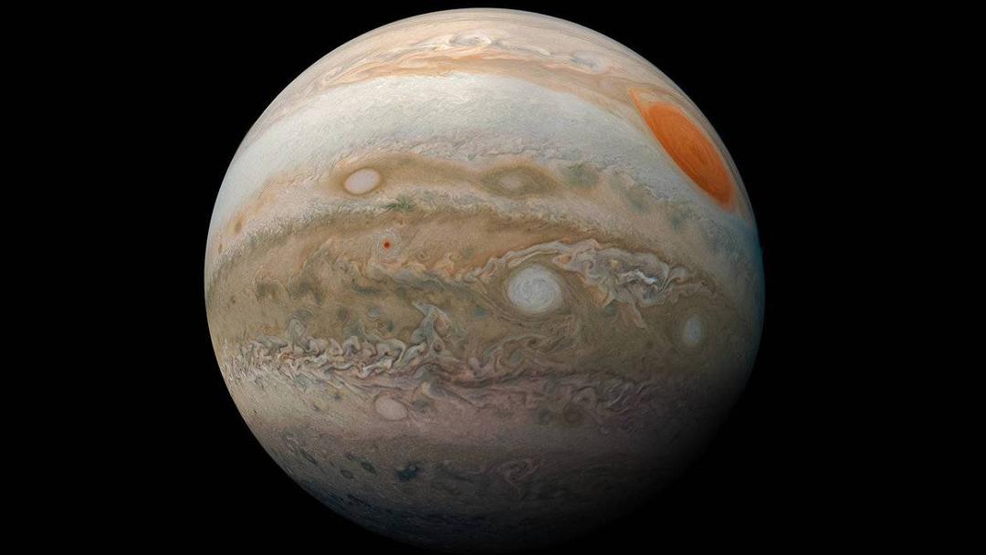NASA, Mancha Roja, Júpiter, Fotos