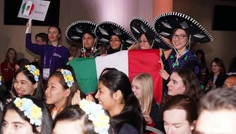 México gana Oro y plata en la Olimpiada Europea Femenil de Matemáticas