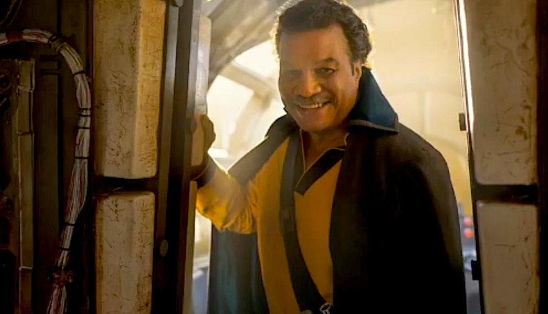 El actor que da vida a Lando Calrissian