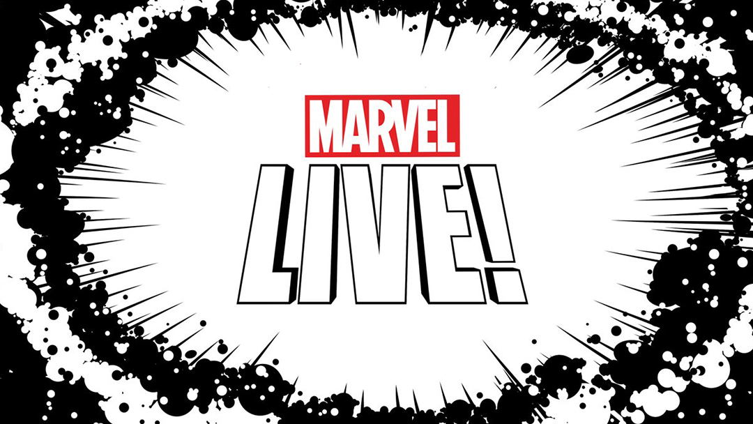 Marvel Live, Twitter, Marvel, Programa