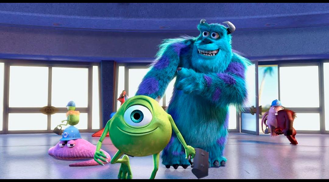 imagen de la película Monsters Inc