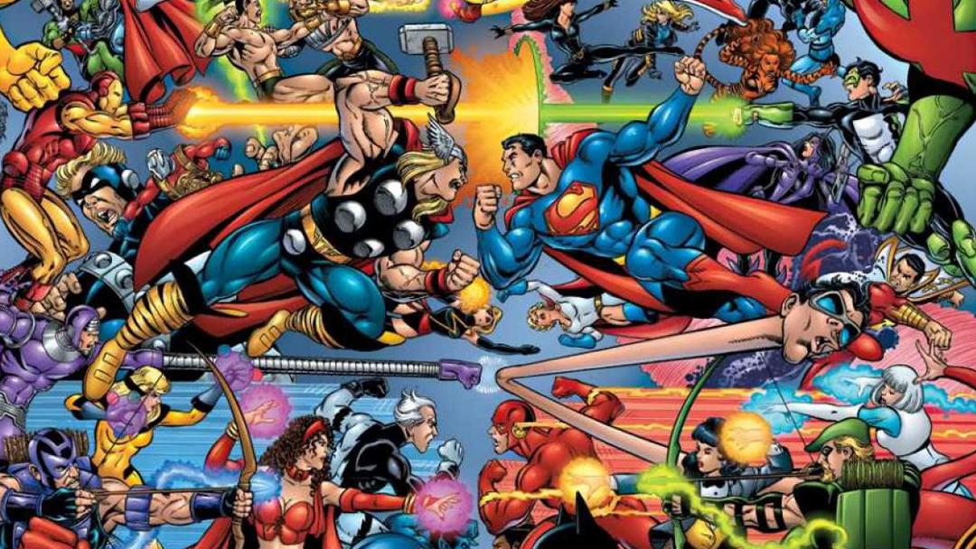Mortal Kombat, Marvel, DC, Juego