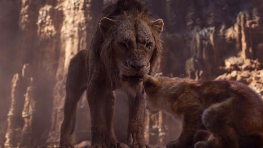 Scar en Trailer de El Rey Leon