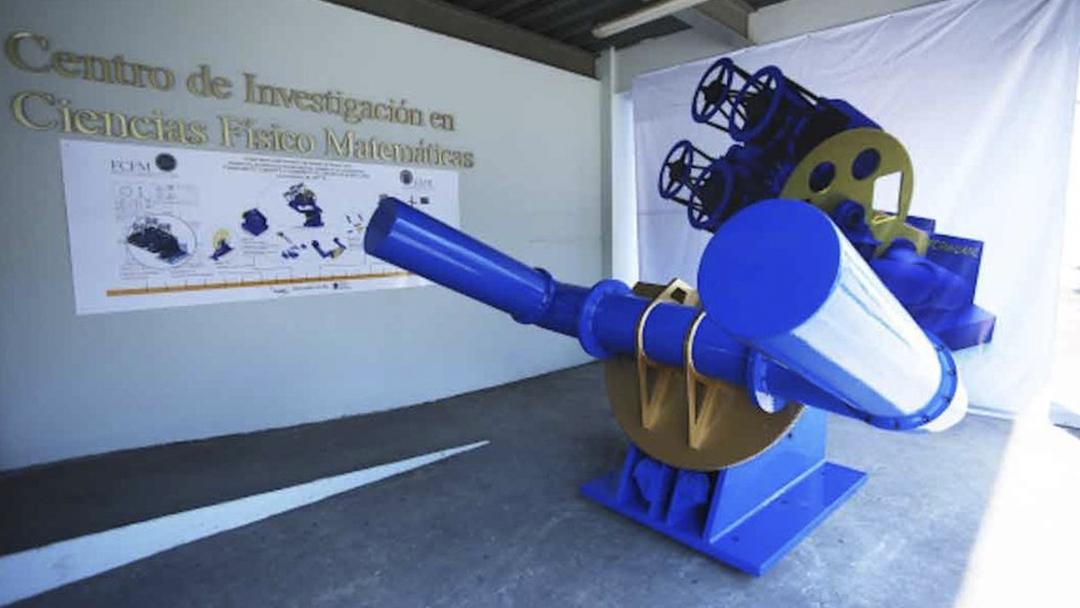 Telescopio, Tlapiani, UANL, México